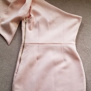 ASOS Light Peach Mini Dress size 6